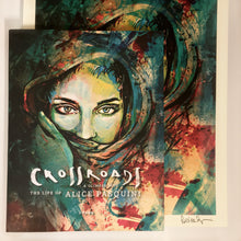 "Load image into Gallery viewer, Alice Pasquini - ""Crossroads"" Book + Limited Edition Print"