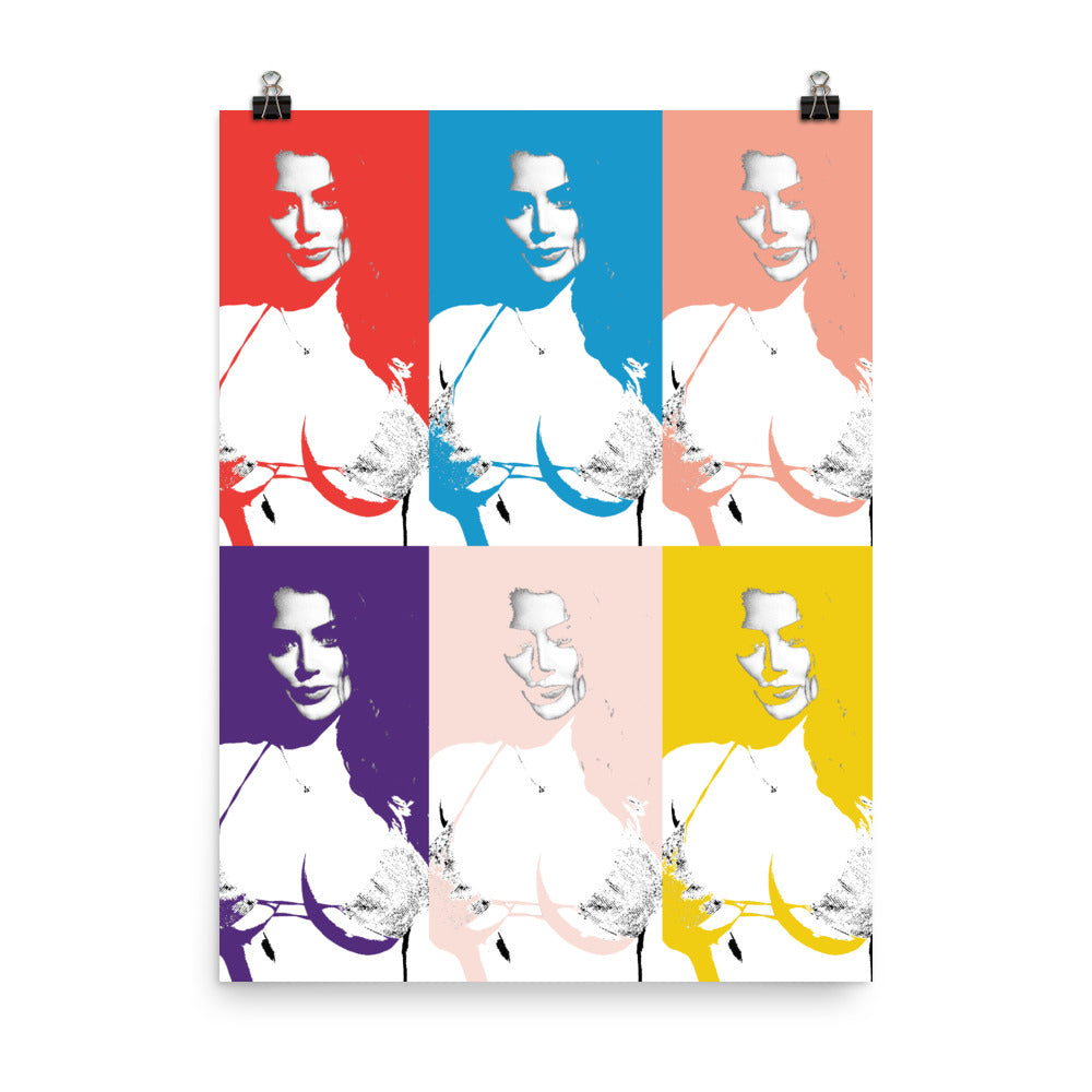 SOPHIE DEE Pop Art Print