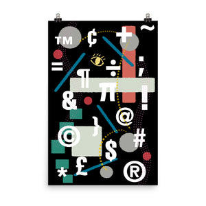 Symbolically Abstract Poster