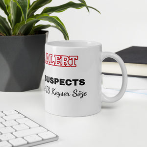 SPOILER ALERT The Usual Suspects Mug