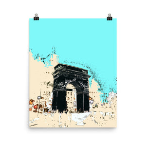 NEW YORK Washington Square Arch Poster