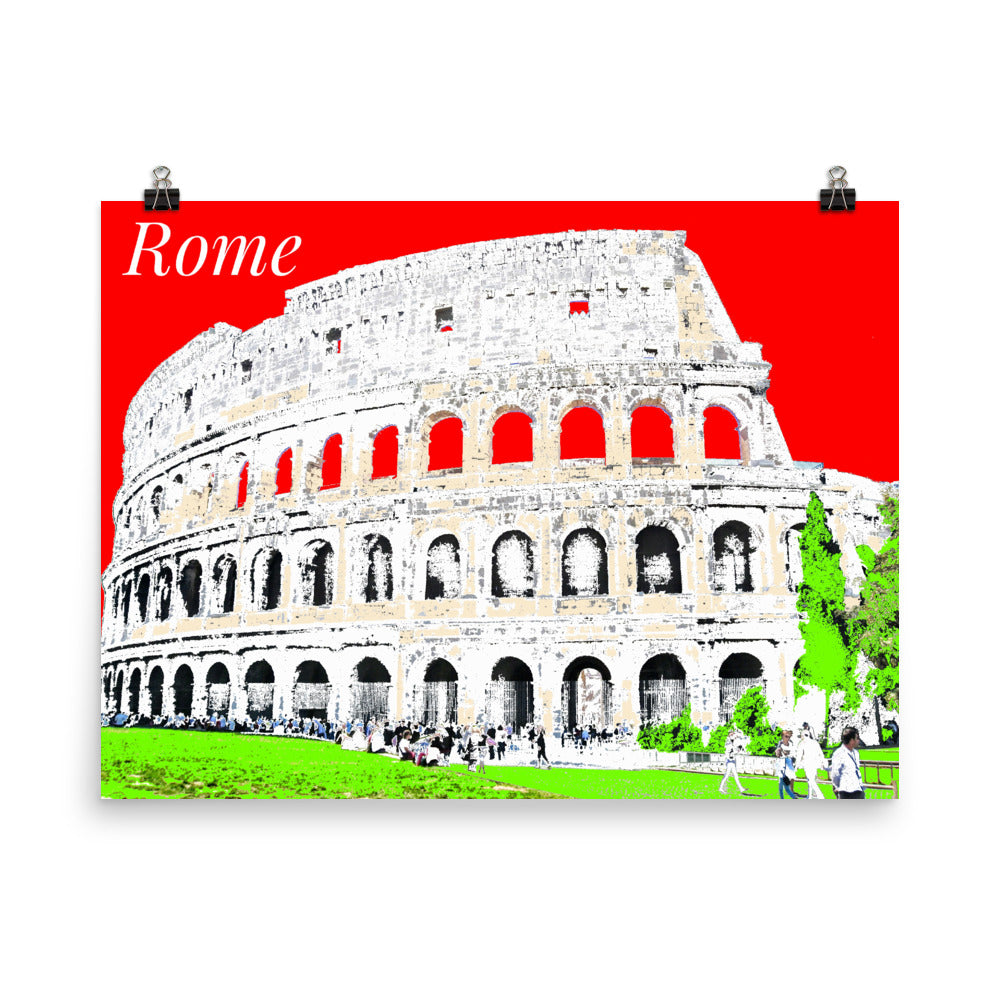 ROME Travel Art Poster