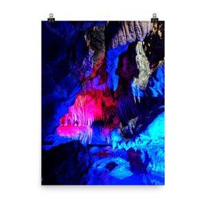 RUBY FALLS Caves Poster