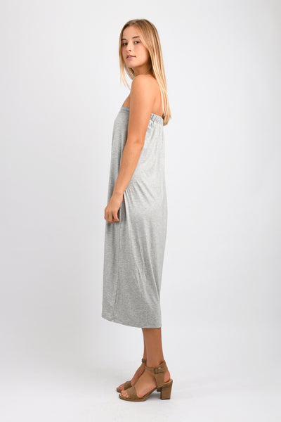 Ellie Convertible Dress/Skirt (Heather Grey)
