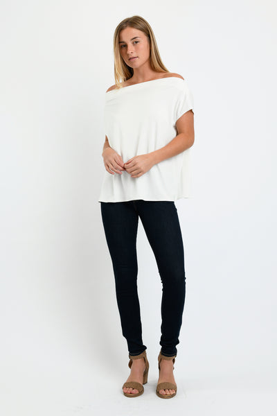 Brooke Top (Ivory)