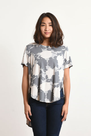 Mara Pleated Back Top (Floral)