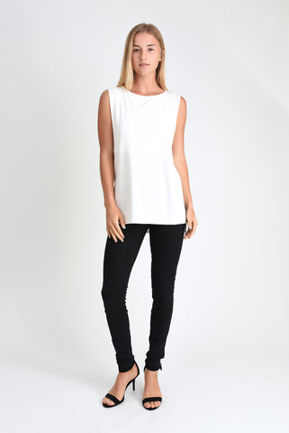 Courtney Layered Tank (Ivory)