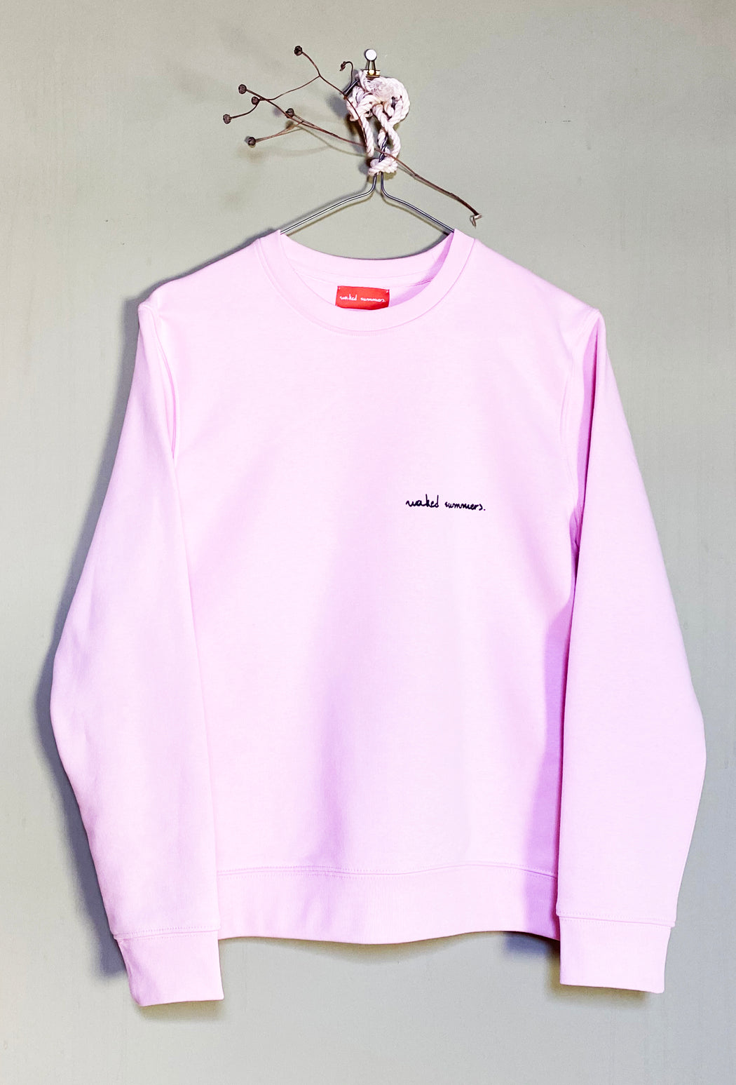 soulmates - cotton pink sweatshirt