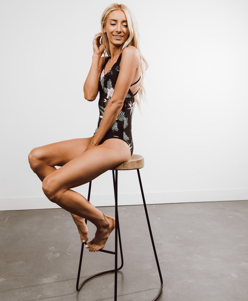 Zoe Criss Cross One Piece