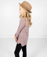 Glendora Mauve Sweater