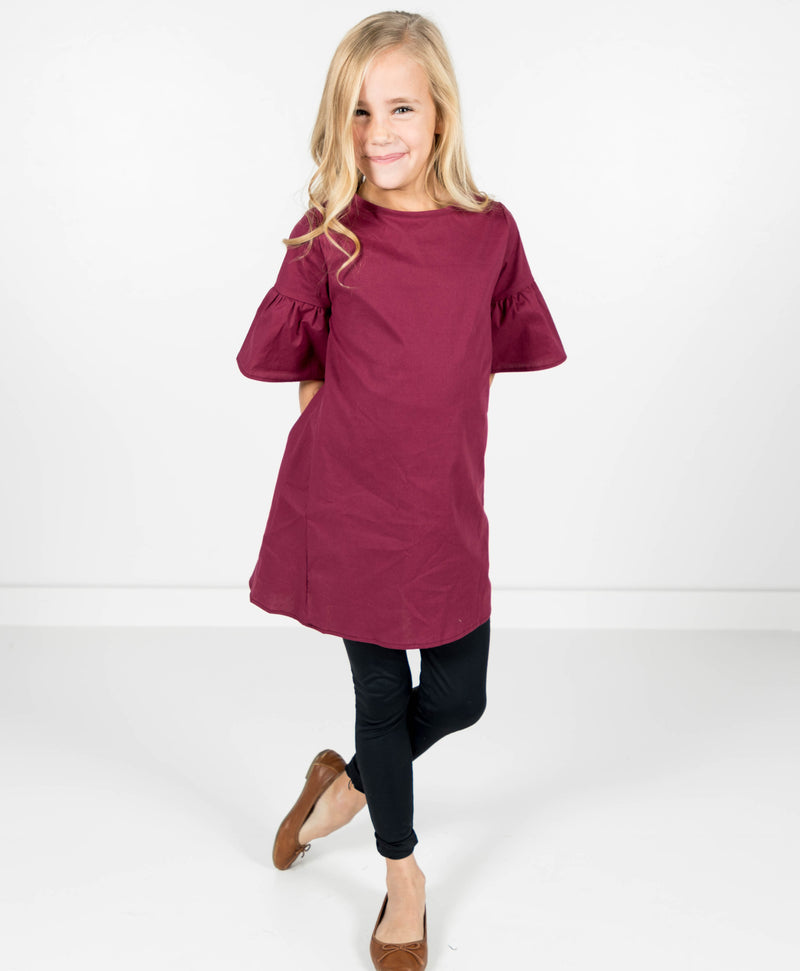 Rocco Ruffle Sleeve Dress