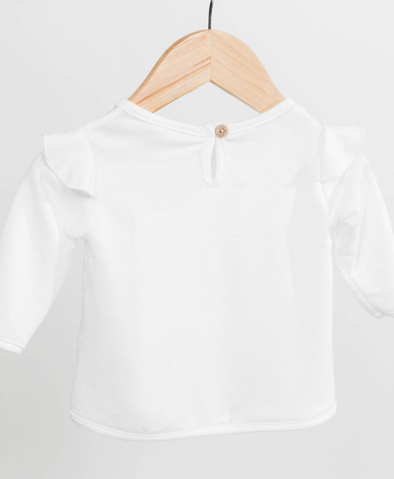 Jessa Long Sleeve Ruffle Top