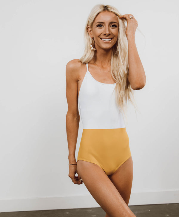 Daffodil Two Tone One Piece