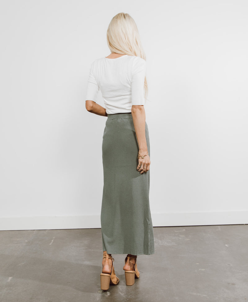 Mitzi Ribbed Skirt