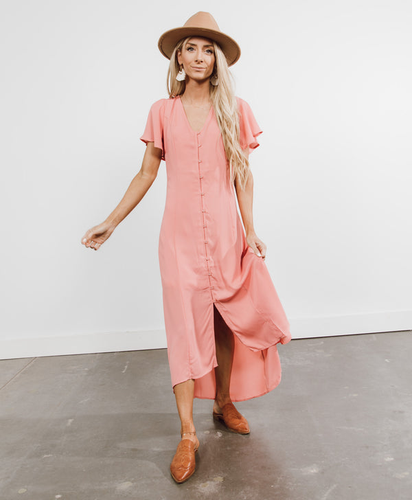 Gabriella Button Down Dress