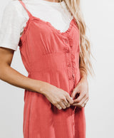 Corinna Button Down Dress