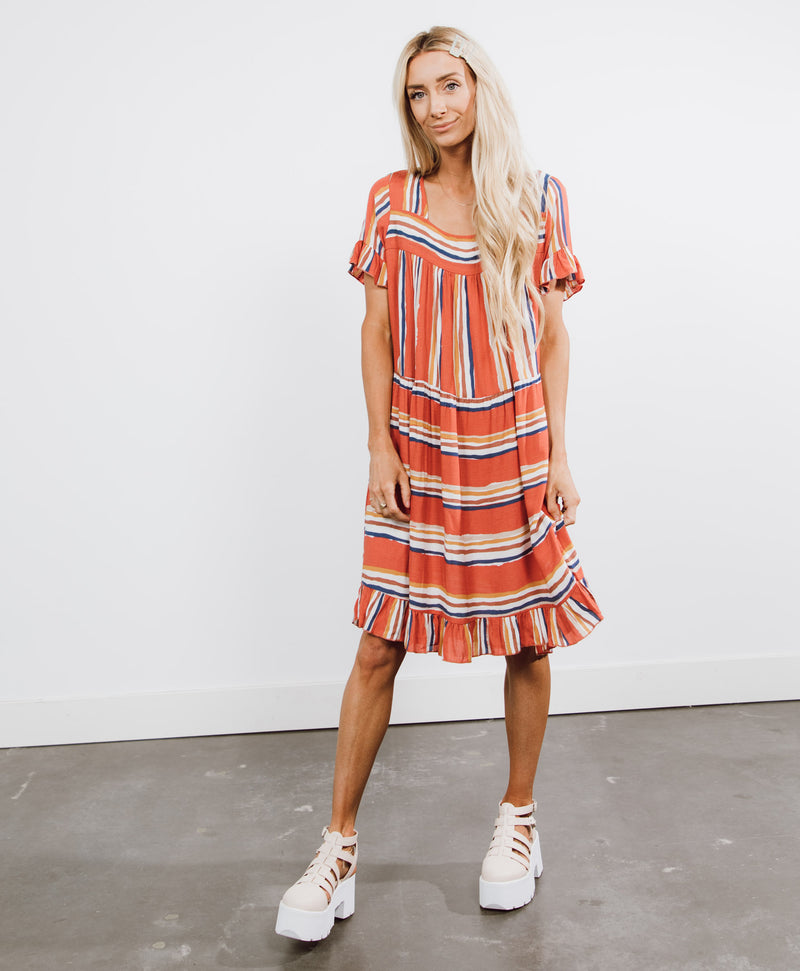 Lyssa Stripe Dress