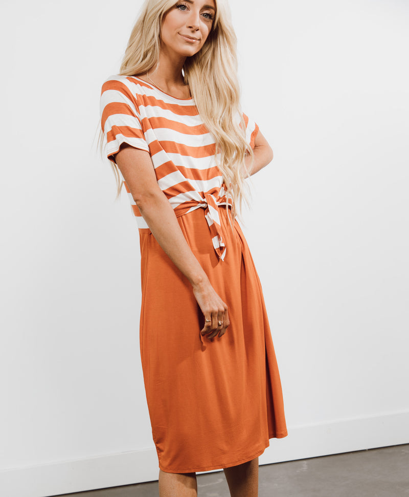 Sashely Midi Dress