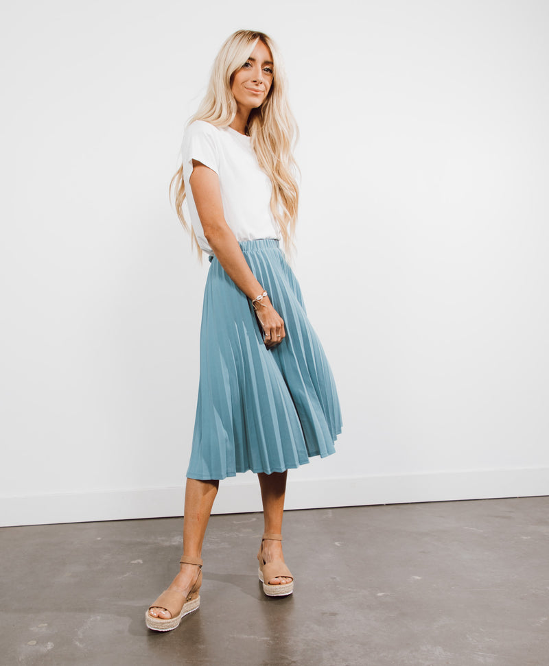 Aly Pleated Skirt