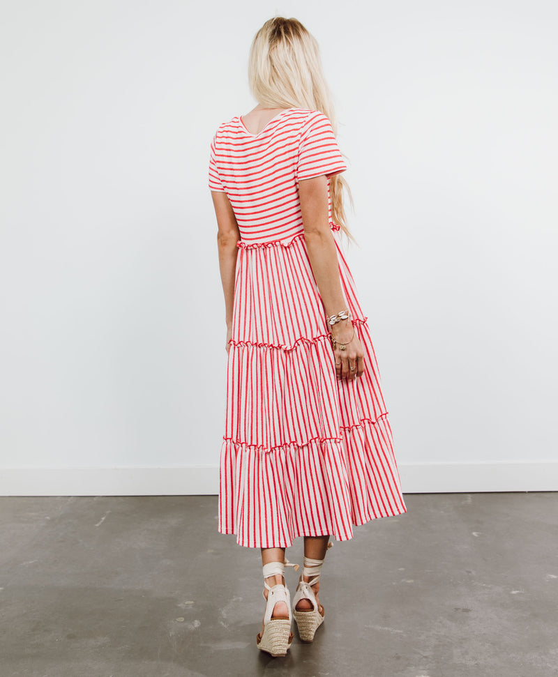 Lora Stripe Maxi Dress