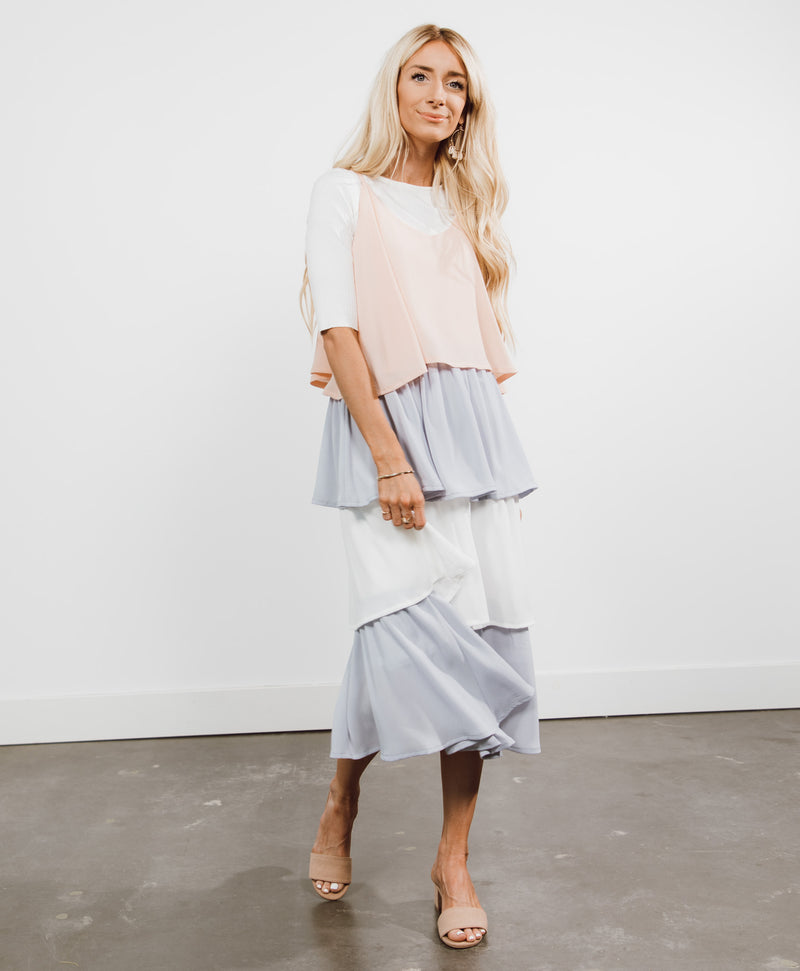 Jacqueline Ruffle Dress