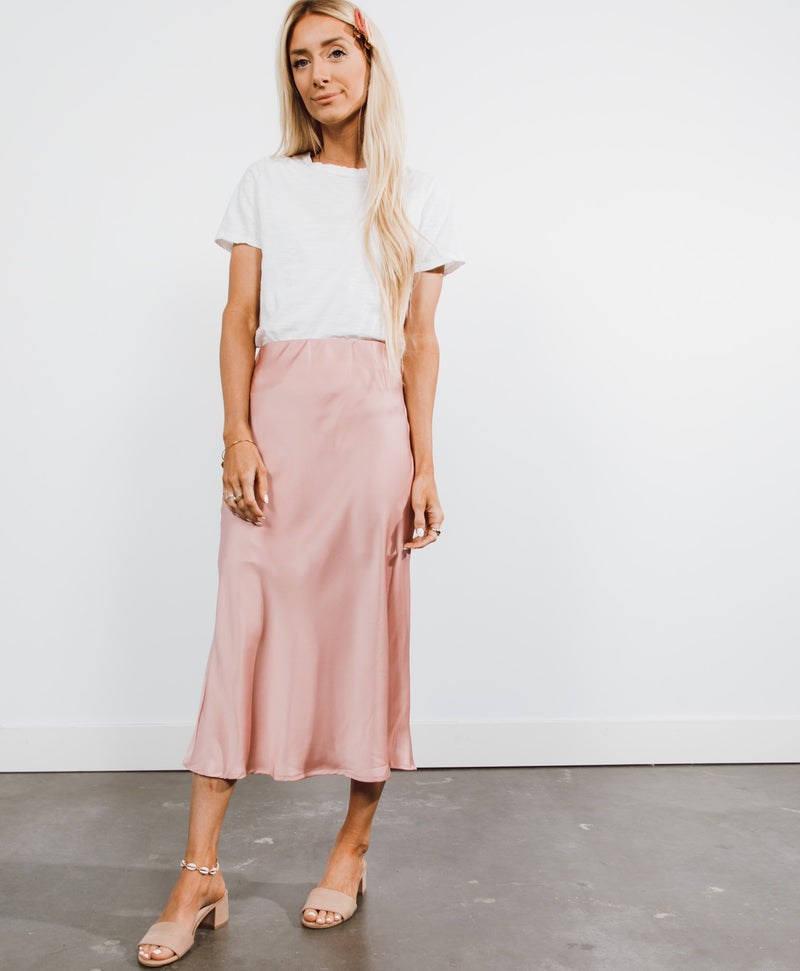 Cassandra Satin Skirt