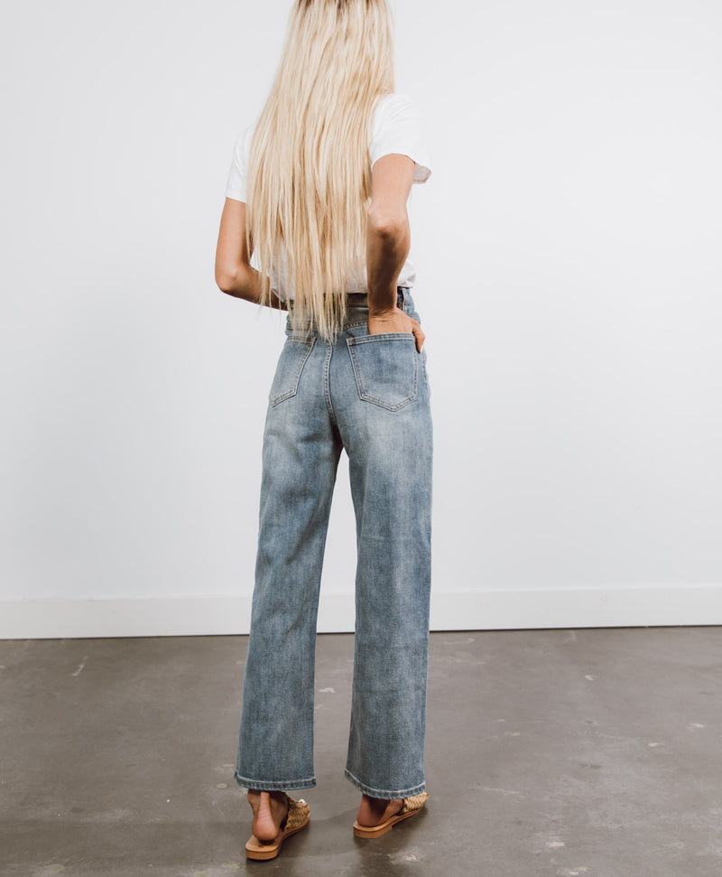 Kylie Wide Leg Denim
