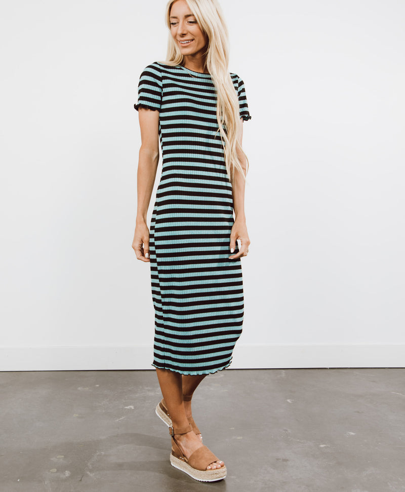 Marine Stripe Dress