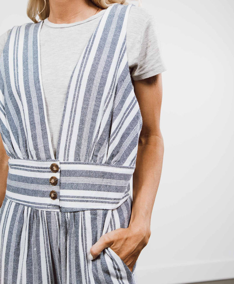 Hampton Stripe Jumpsuit
