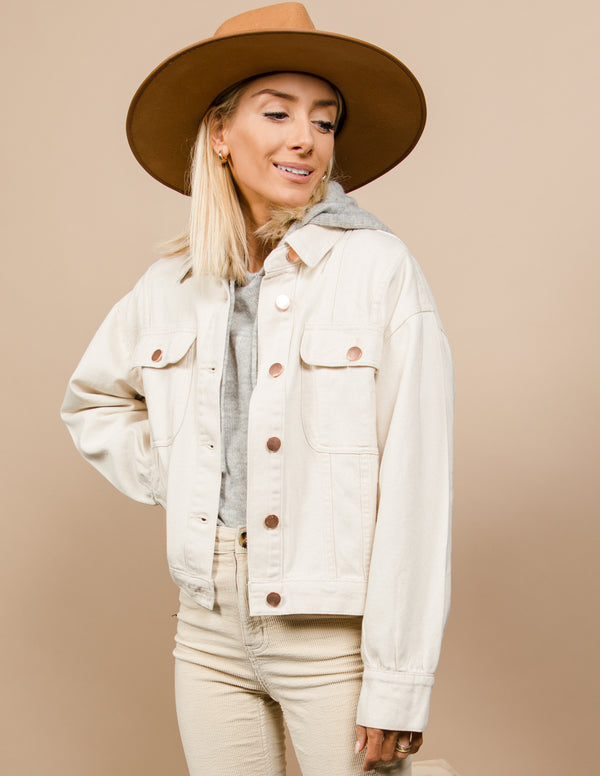 Tawny Button Down Jacket