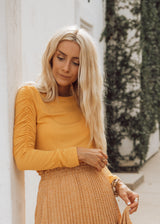 Marigold Long Sleeve Top
