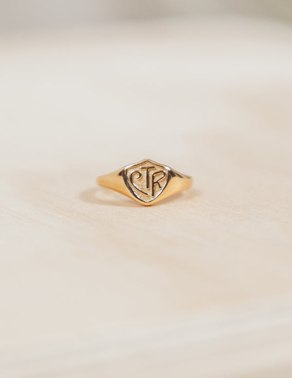 CTR Ring in Gold