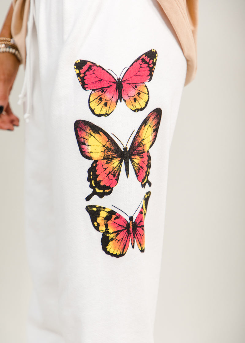 Desiree Butterfly Sweat Pants