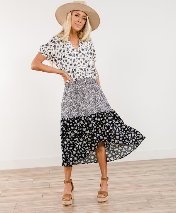 Preston Printed Dress
