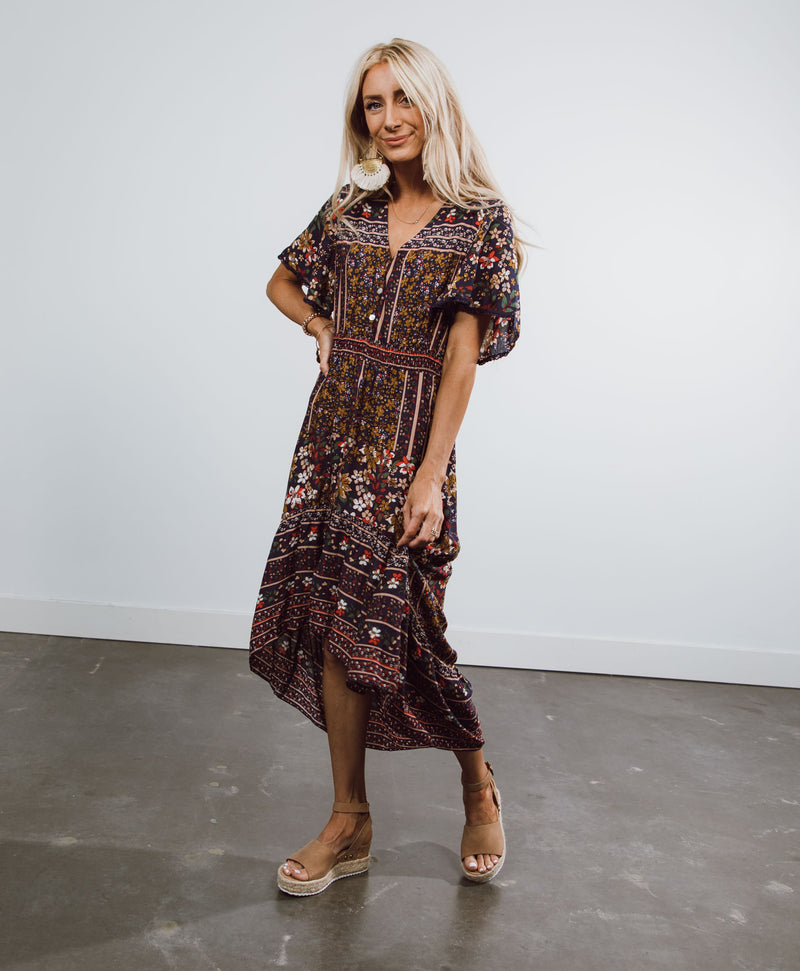 Lynda Printed Dress