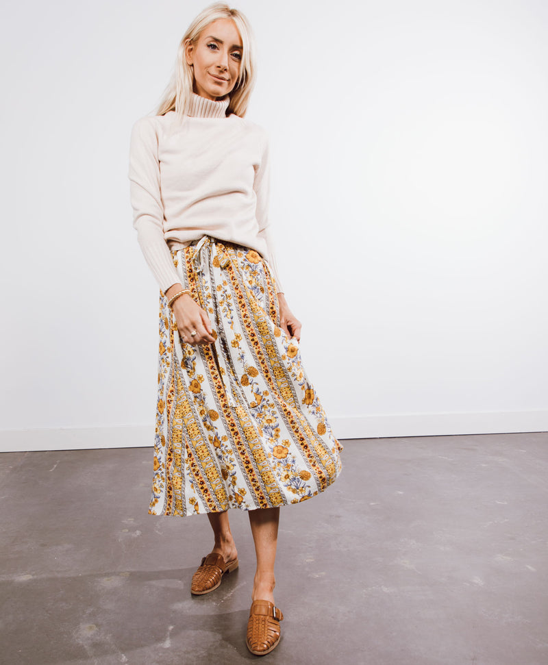 Sunshine Floral Skirt