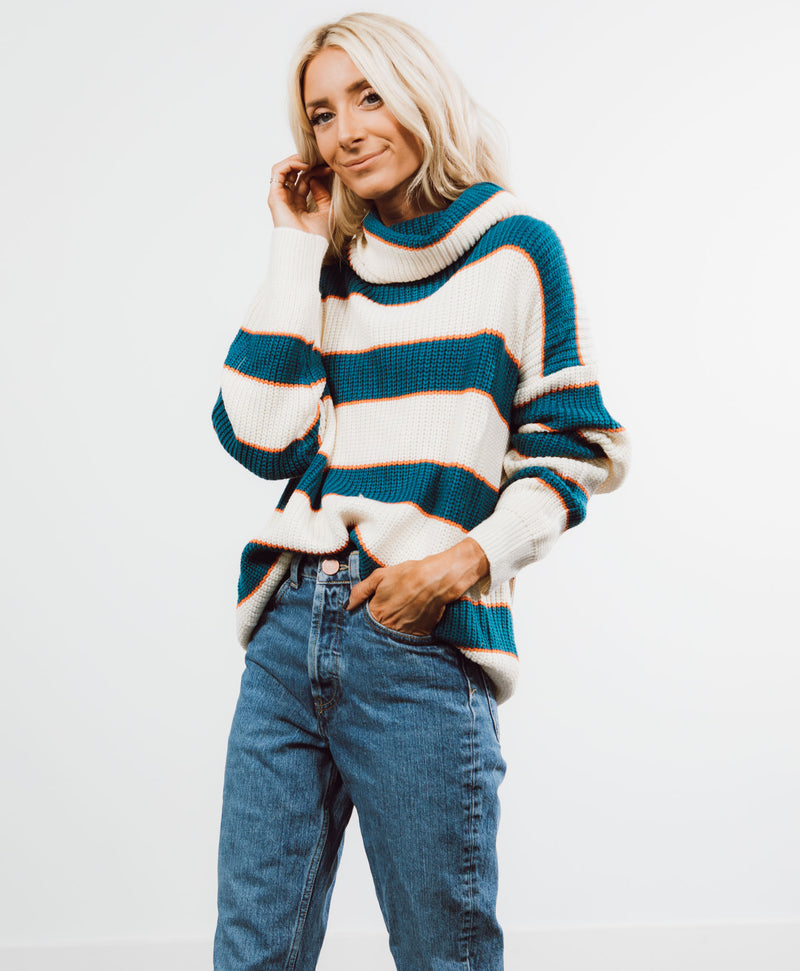 Arya Stripe Sweater