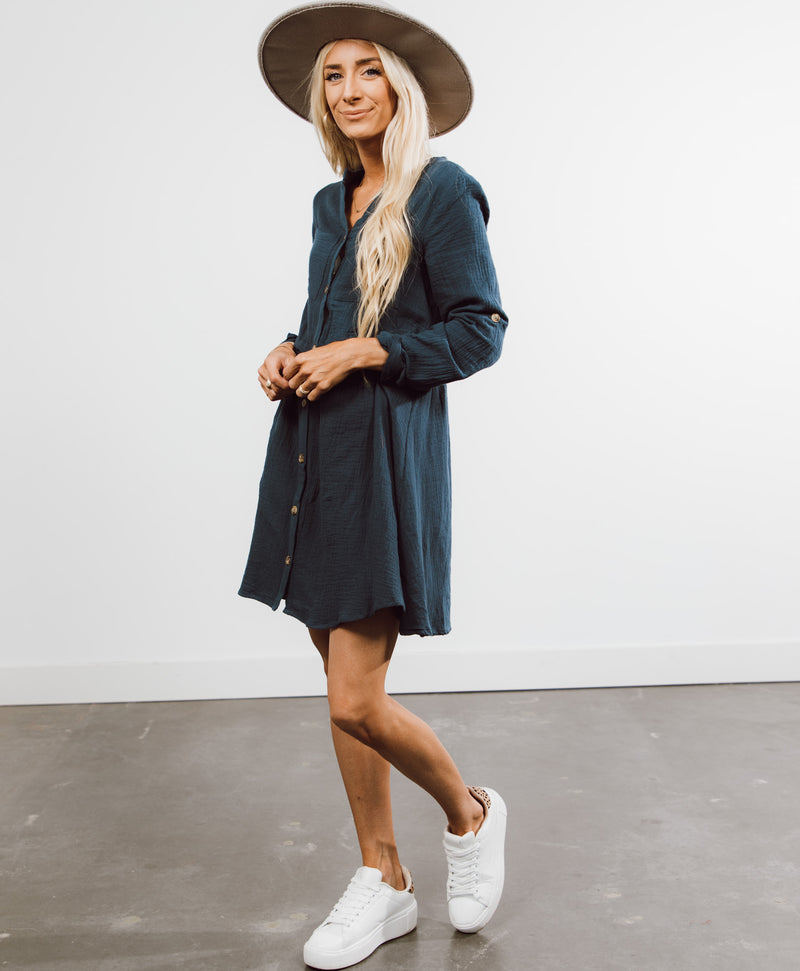 Mamba Button Down Dress