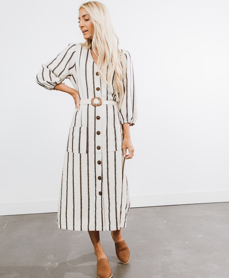 Nevada Stripe Dress