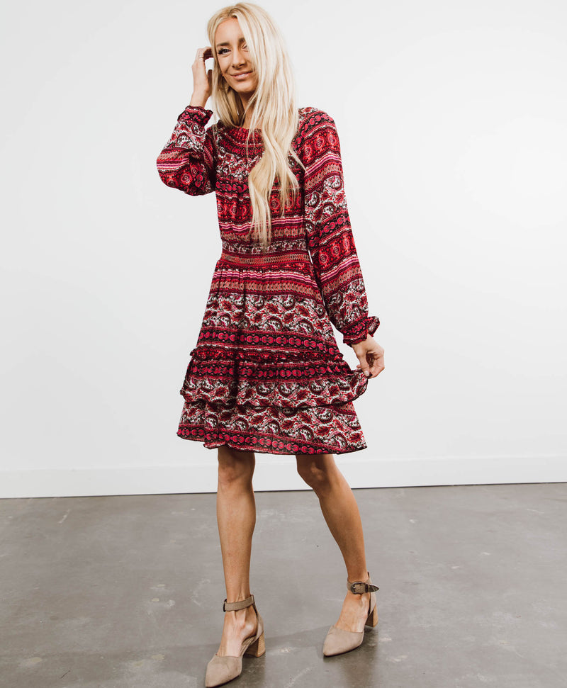 Esmeralda Printed Dress
