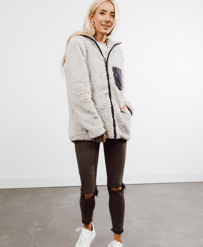 Noelle Zip Up Jacket