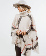 Waverly Plaid Poncho