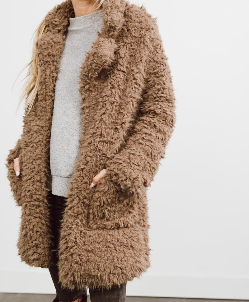 Fatima Teddy Coat