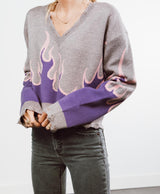 Fuego V-Neck Sweater
