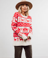 Merry Printed Sweater