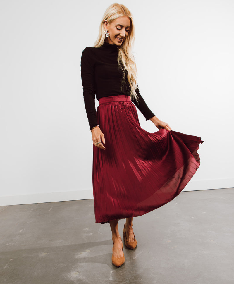 Louisiana Pleated Skirt