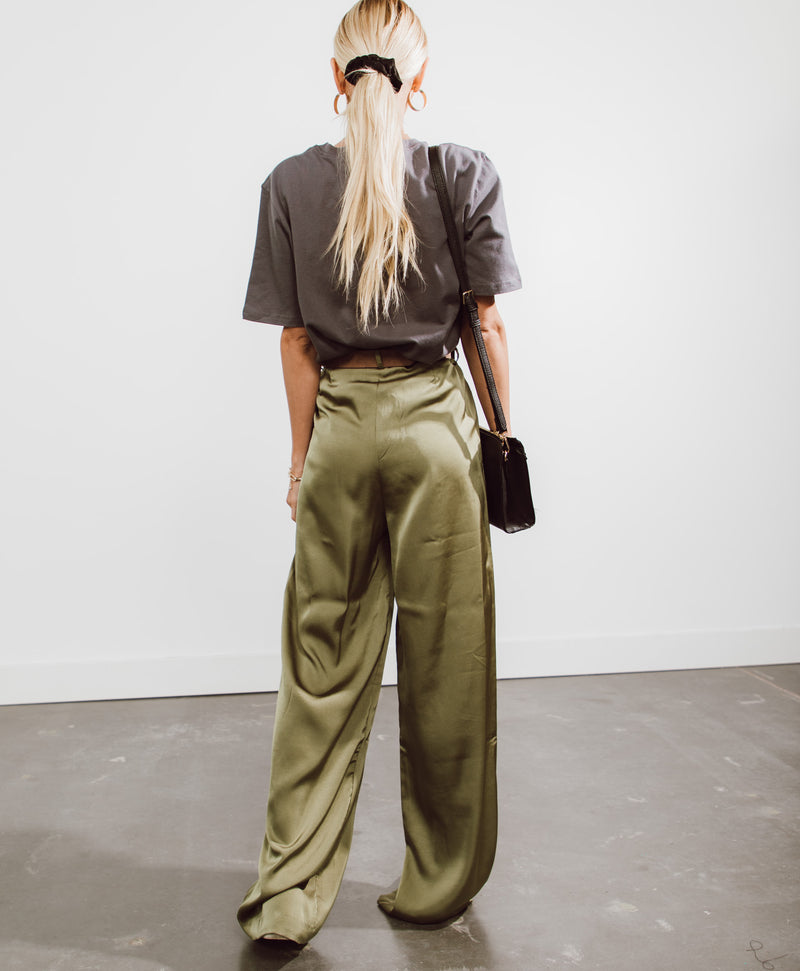 Marina Satin Pants
