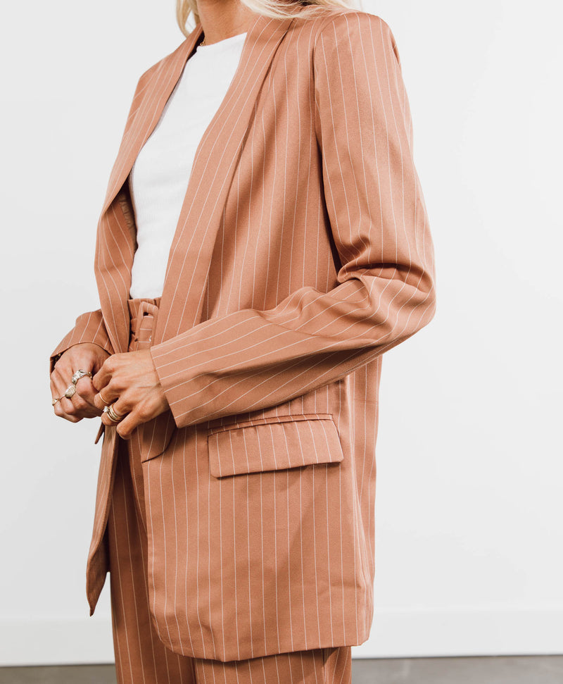 Molly Stripe Blazer
