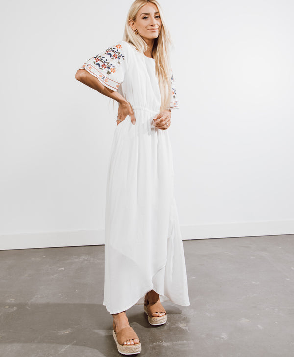 Aubrie Embroidered Dress