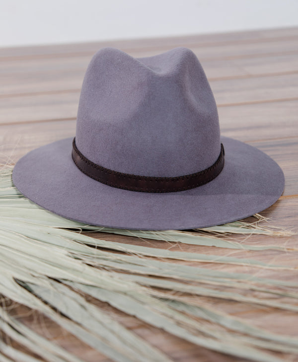 Aubrielle Flat Brim Hat (On Sale!)